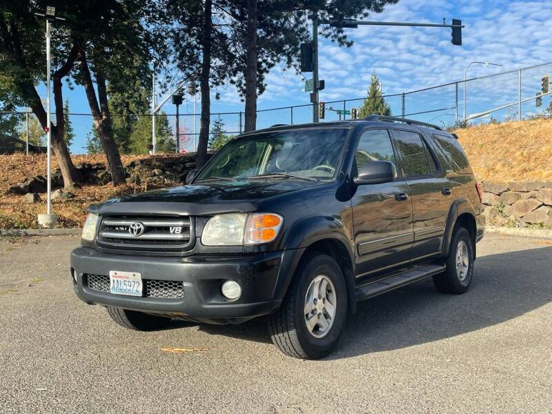 2001 Toyota Sequoia for sale at National Motors USA in Federal Way WA