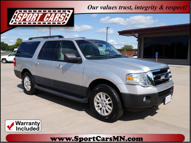 2014 Ford Expedition EL for sale at SPORT CARS in Norwood MN