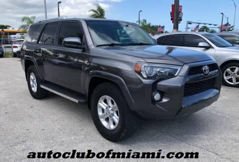 2014 Toyota 4Runner for sale at AUTO CLUB OF MIAMI, INC in Miami FL