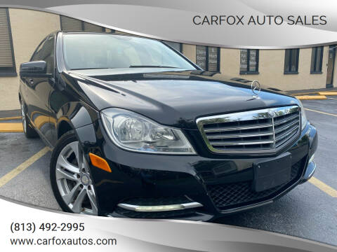 2013 Mercedes-Benz C-Class for sale at Carfox Auto Sales in Tampa FL