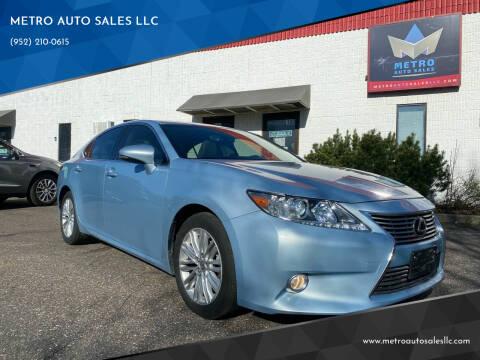 2013 Lexus ES 350 for sale at METRO AUTO SALES LLC in Blaine MN