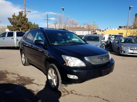 2007 Lexus RX 350 for sale at BERKENKOTTER MOTORS in Brighton CO