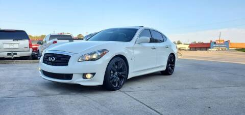 2011 Infiniti M56 for sale at WHOLESALE AUTO GROUP in Mobile AL