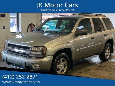 2003 Chevrolet TrailBlazer for sale at JK Motor Cars in Pittsburgh PA