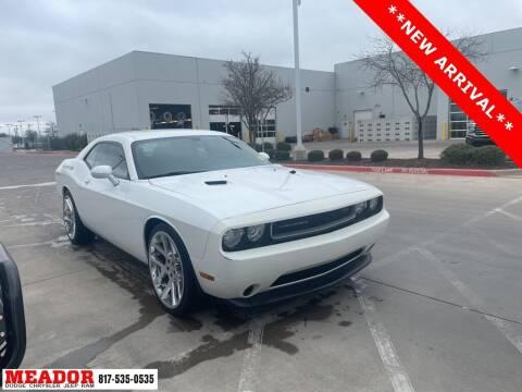 2013 Dodge Challenger for sale at Meador Dodge Chrysler Jeep RAM in Fort Worth TX