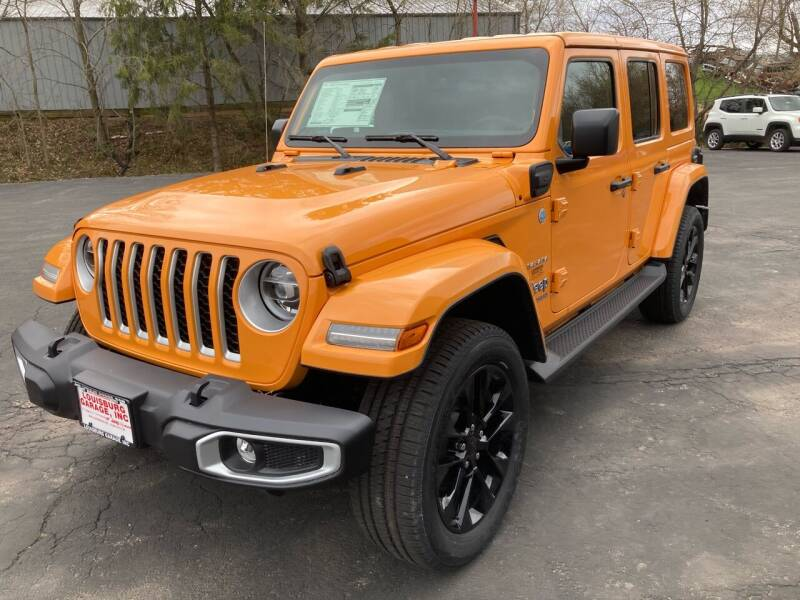 2021 Jeep Wrangler 4xe for sale at Louisburg Garage, Inc. in Cuba City WI