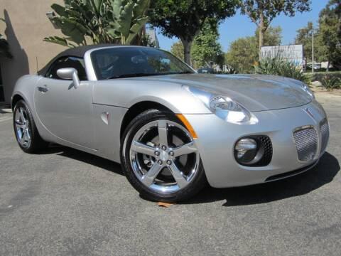 2008 Pontiac Solstice for sale at ORANGE COUNTY AUTO WHOLESALE in Irvine CA