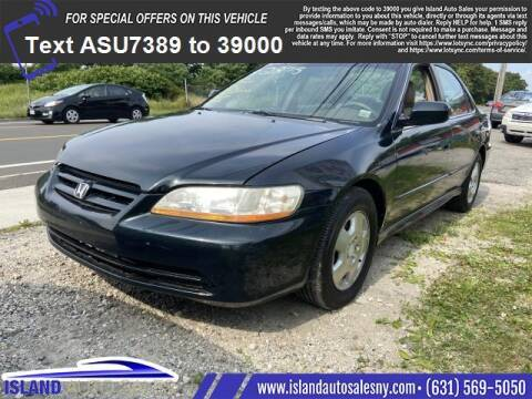 2001 Honda Accord for sale at Island Auto Sales in East Patchogue NY