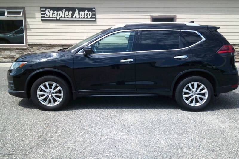 2017 Nissan Rogue for sale at STAPLES AUTO SALES in Staples MN
