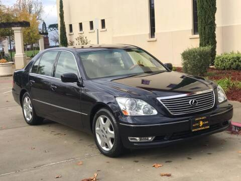 2004 Lexus LS 430 for sale at Auto King in Roseville CA