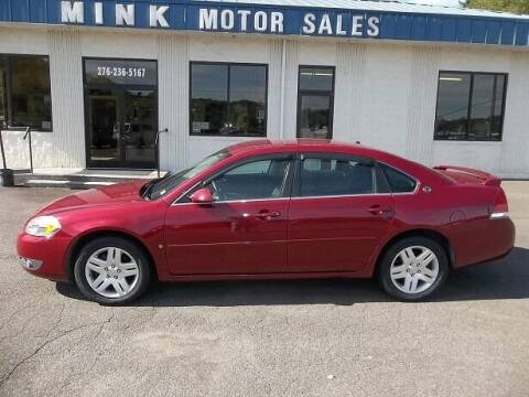 2006 Chevrolet Impala for sale at MINK MOTOR SALES INC in Galax VA