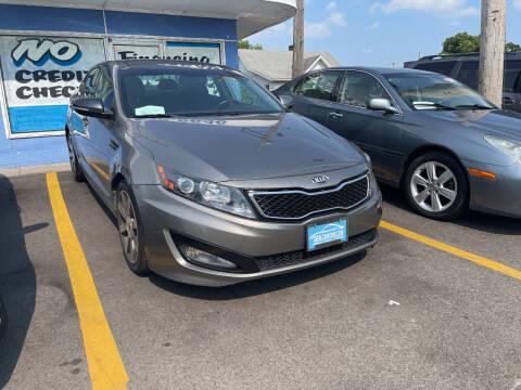 2013 Kia Optima for sale at Ideal Cars in Hamilton OH