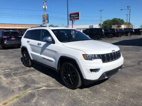 2017 Jeep Grand Cherokee for sale at WILLIAMS AUTO SALES in Green Bay WI