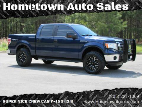 2012 Ford F-150 for sale at Hometown Auto Sales - Trucks in Jasper AL