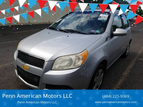 2009 Chevrolet Aveo for sale at Penn American Motors LLC in Allentown PA