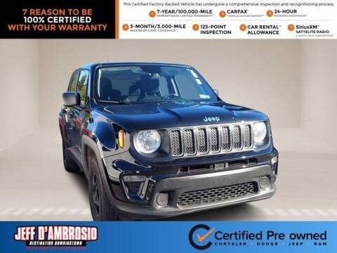 2020 Jeep Renegade for sale at Jeff D'Ambrosio Auto Group in Downingtown PA