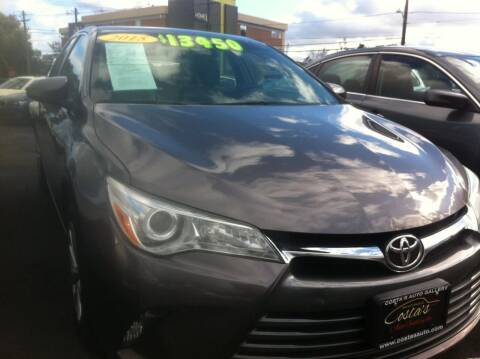 2015 Toyota Camry for sale at Costas Auto Gallery in Rahway NJ