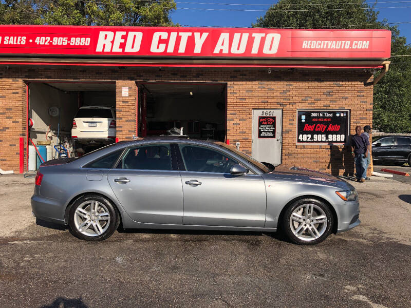 2012 Audi A6 for sale at Red City  Auto in Omaha NE