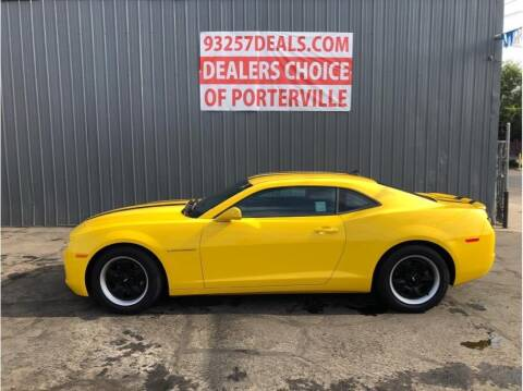 2013 Chevrolet Camaro for sale at Dealers Choice Inc in Farmersville CA