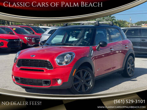 2013 MINI Countryman for sale at Classic Cars of Palm Beach in Jupiter FL