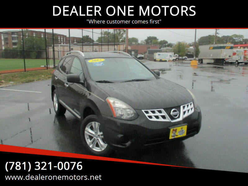 2015 Nissan Rogue Select for sale at DEALER ONE MOTORS in Malden MA