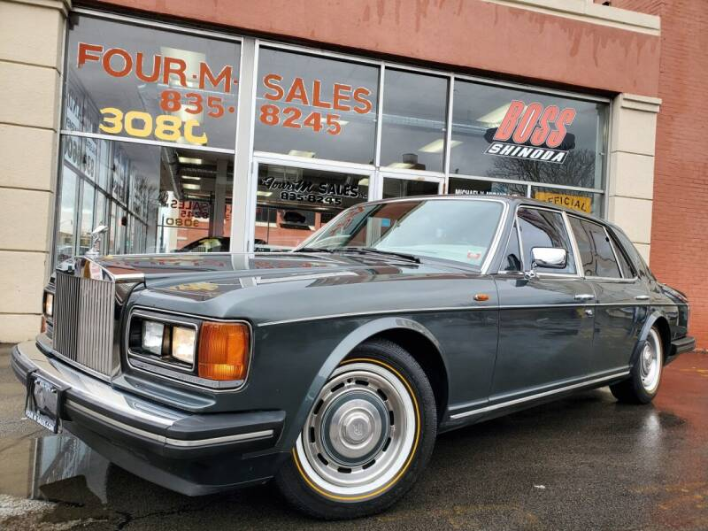 1989 Rolls-Royce Silver Spirit for sale at FOUR M SALES in Buffalo NY