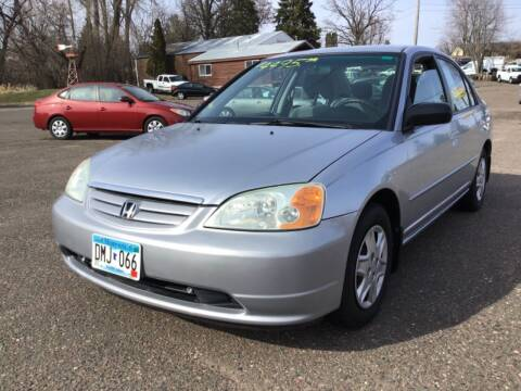 2003 Honda Civic for sale at Sparkle Auto Sales in Maplewood MN