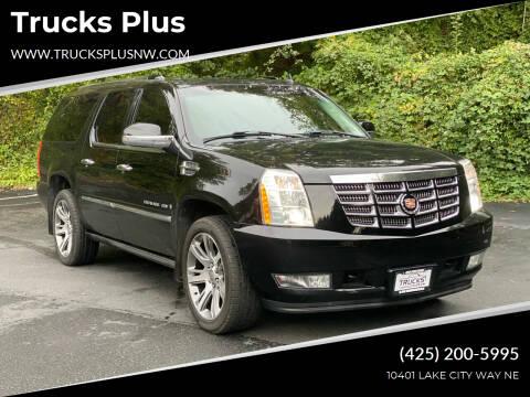 2008 Cadillac Escalade ESV for sale at Trucks Plus in Seattle WA