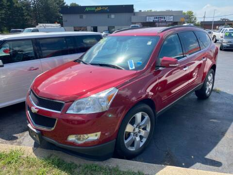 2012 Chevrolet Traverse for sale at Santa Motors Inc in Rochester NY