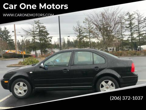 2002 Volkswagen Jetta for sale at Car One Motors in Seattle WA