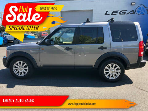 2008 Land Rover LR3 for sale at LEGACY AUTO SALES in Boise ID