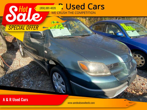 2003 Mitsubishi Outlander for sale at A & R Used Cars in Clayton NJ