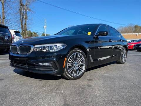 2018 BMW 5 Series for sale at iDeal Auto in Raleigh NC