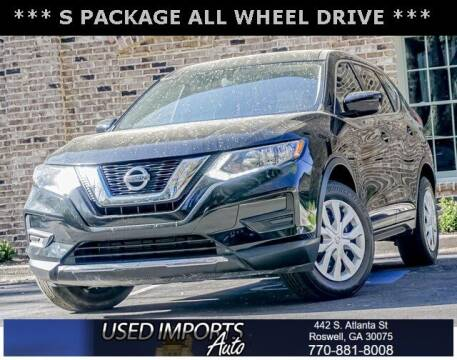 2017 Nissan Rogue for sale at Used Imports Auto in Roswell GA