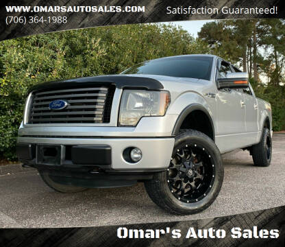2011 Ford F-150 for sale at Omar's Auto Sales in Martinez GA