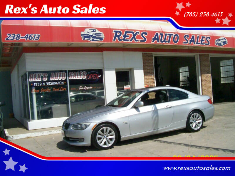2013 BMW 3 Series for sale at Rex's Auto Sales in Junction City KS