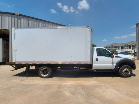 2016 Ford F-550 Super Duty for sale at TRUCK N TRAILER in Oklahoma City OK