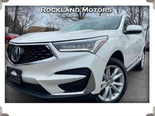 2019 Acura RDX for sale at Rockland Automall - Rockland Motors in West Nyack NY