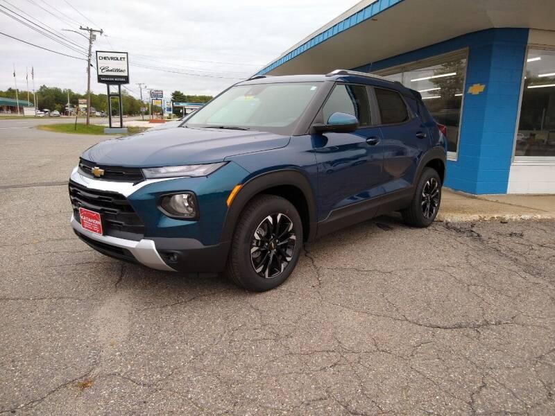 2021 Chevrolet TrailBlazer for sale at KATAHDIN MOTORS INC /  Chevrolet & Cadillac in Millinocket ME