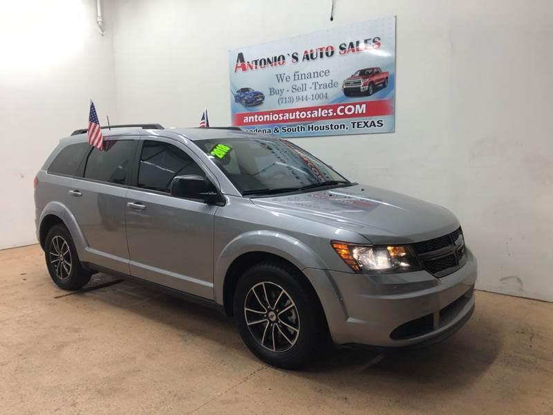 2018 Dodge Journey for sale at Antonio's Auto Sales - Antonio`s  2206 in Pasadena TX