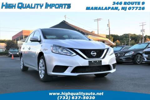 2017 Nissan Sentra for sale at High Quality Imports in Manalapan NJ
