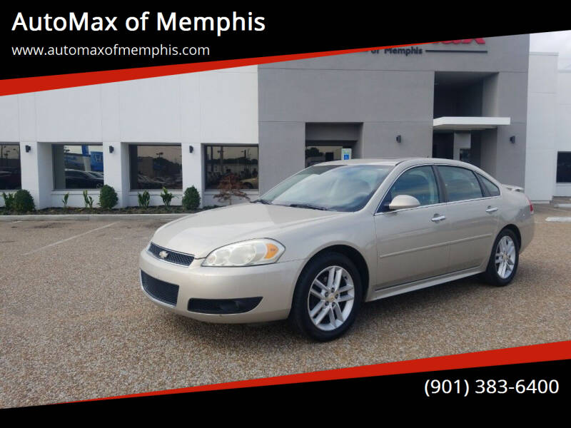 2012 Chevrolet Impala for sale at AutoMax of Memphis - Darrell James in Memphis TN