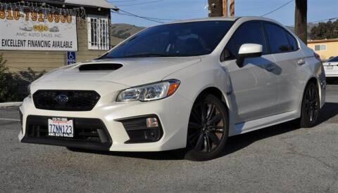 2018 Subaru WRX for sale at AMC Auto Sales, Inc. in Fremont CA