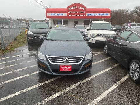 2011 Volkswagen CC for sale at Sandy Lane Auto Sales and Repair in Warwick RI