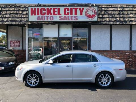 2011 Chevrolet Malibu for sale at NICKEL CITY AUTO SALES in Lockport NY