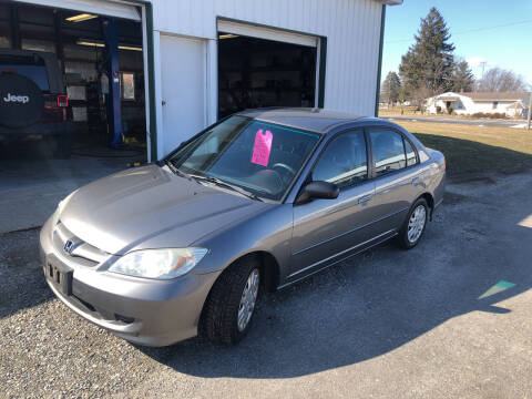 2004 Honda Civic for sale at Purpose Driven Motors in Sidney OH