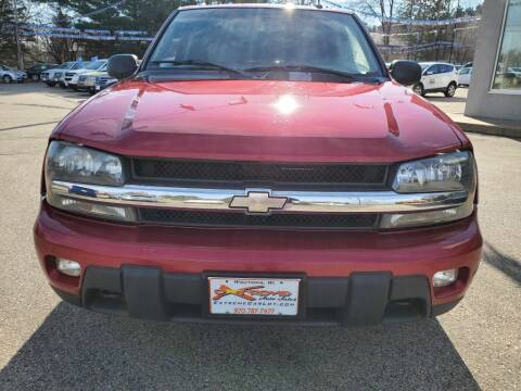 2004 Chevrolet TrailBlazer for sale at Extreme Auto Sales LLC. in Wautoma WI