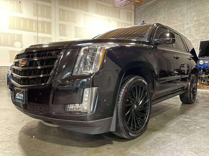 2017 Cadillac Escalade for sale at Platinum Motors in Portland OR