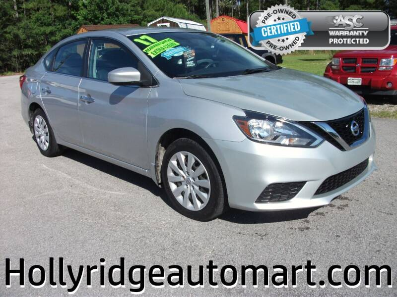 2017 Nissan Sentra for sale at Holly Ridge Auto Mart in Holly Ridge NC