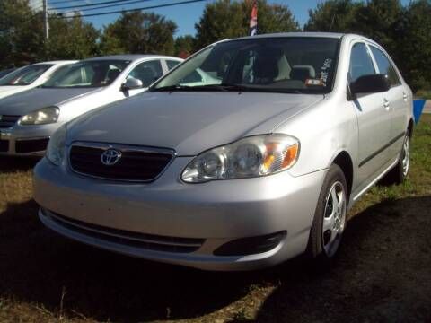 2005 Toyota Corolla for sale at Frank Coffey in Milford NH